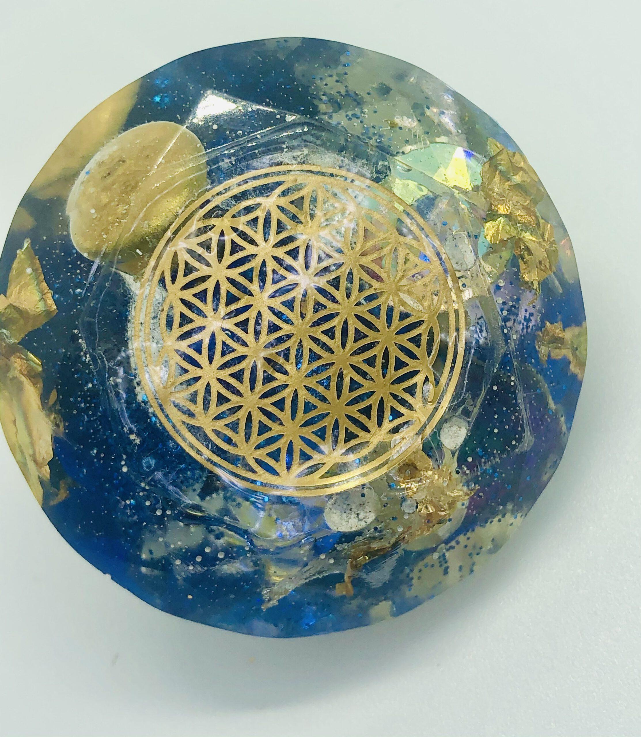 Grand diamant élixir - Taille base inscrite dans Dia.45 mm, Ht.27 mm
